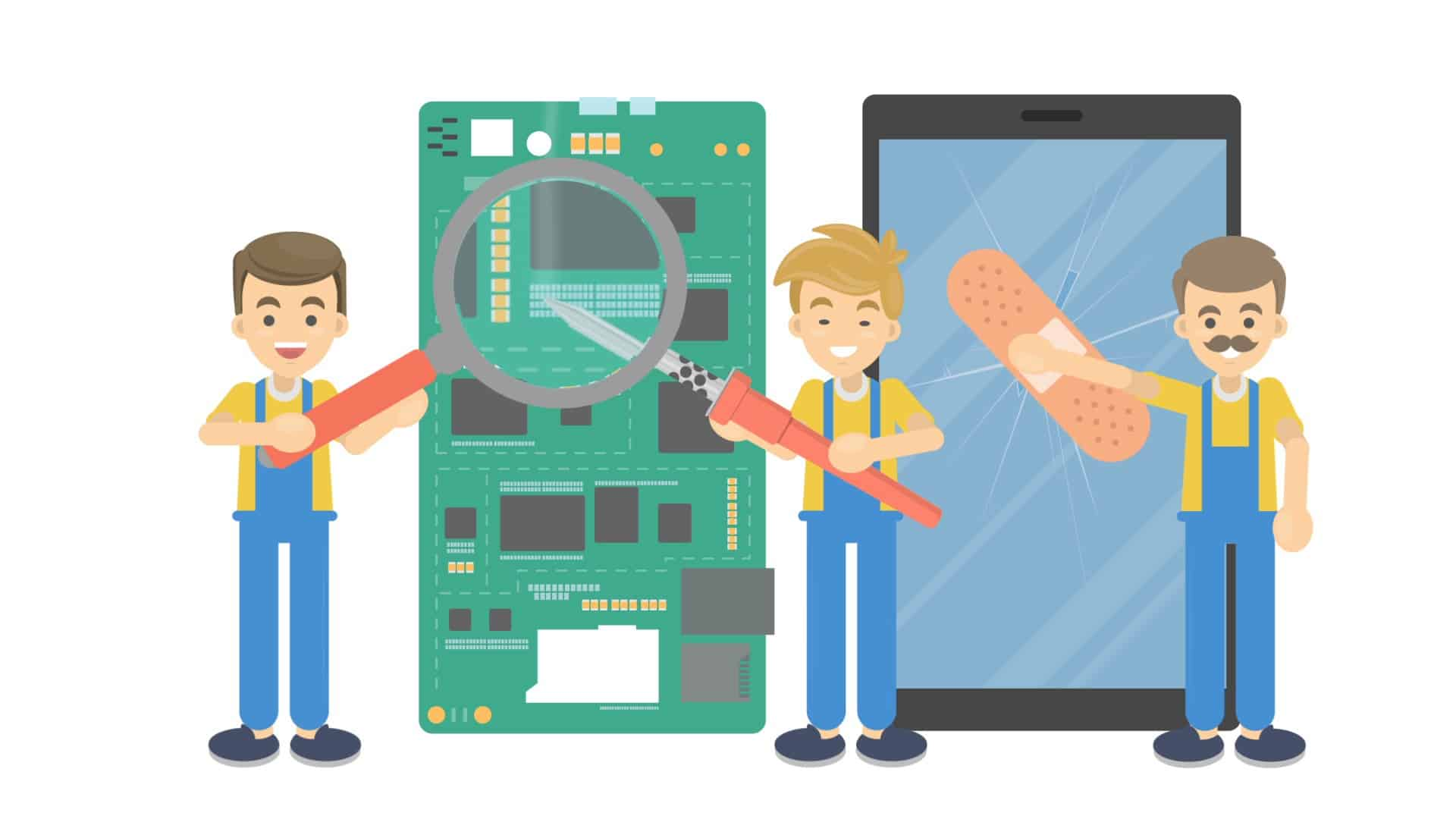 fix mobile devices